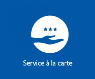 Service à la carte