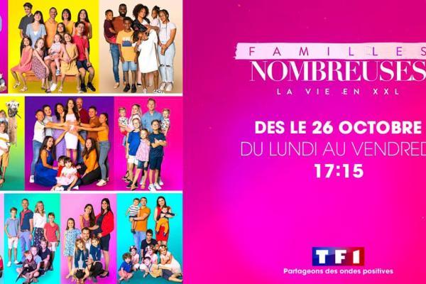 Déménagement famille nombreuse : Aux Demenageurs Mediterranéens sur TF1 avec la Famille Gryffon !