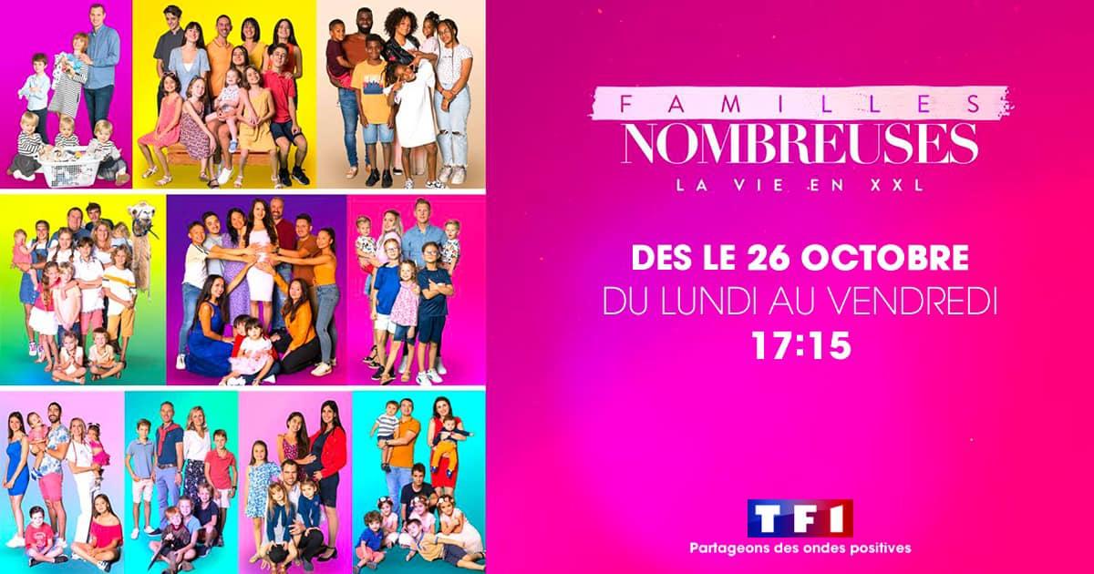 Déménagement XXL - Famille Nombreuse - Toulon à Brest - Aux Demenageurs Mediterranéens - TF1 émission Familles Nombreuses - la Vie en XXL ®
